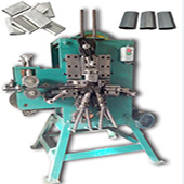 plastic PP strapping closed clip seal machine
