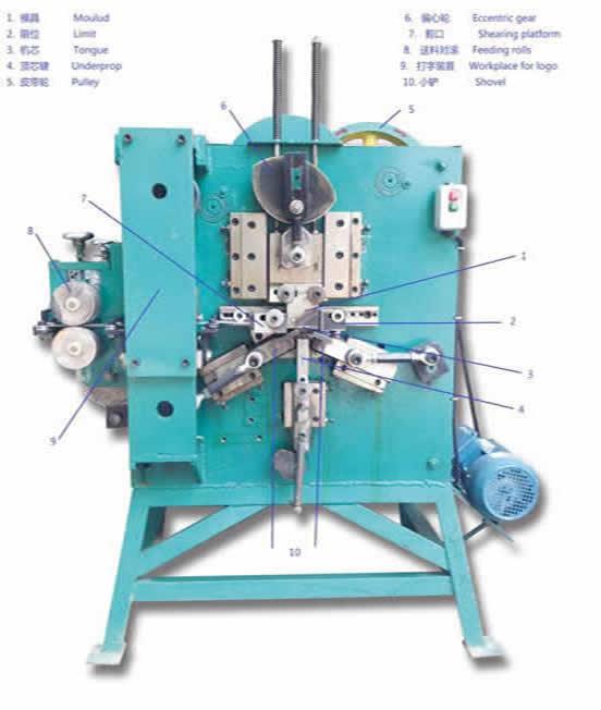 Otomatik Çelik Çemberleme metal klips Makinası, Çelik çemberin metal klipsi, çelik çemberleme aletleri, Colin Wang Çemberleme